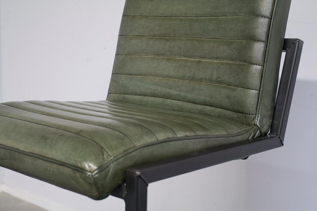 Buffalo Industrie Barhocker Hoch - Vintage Leder - Art. 55