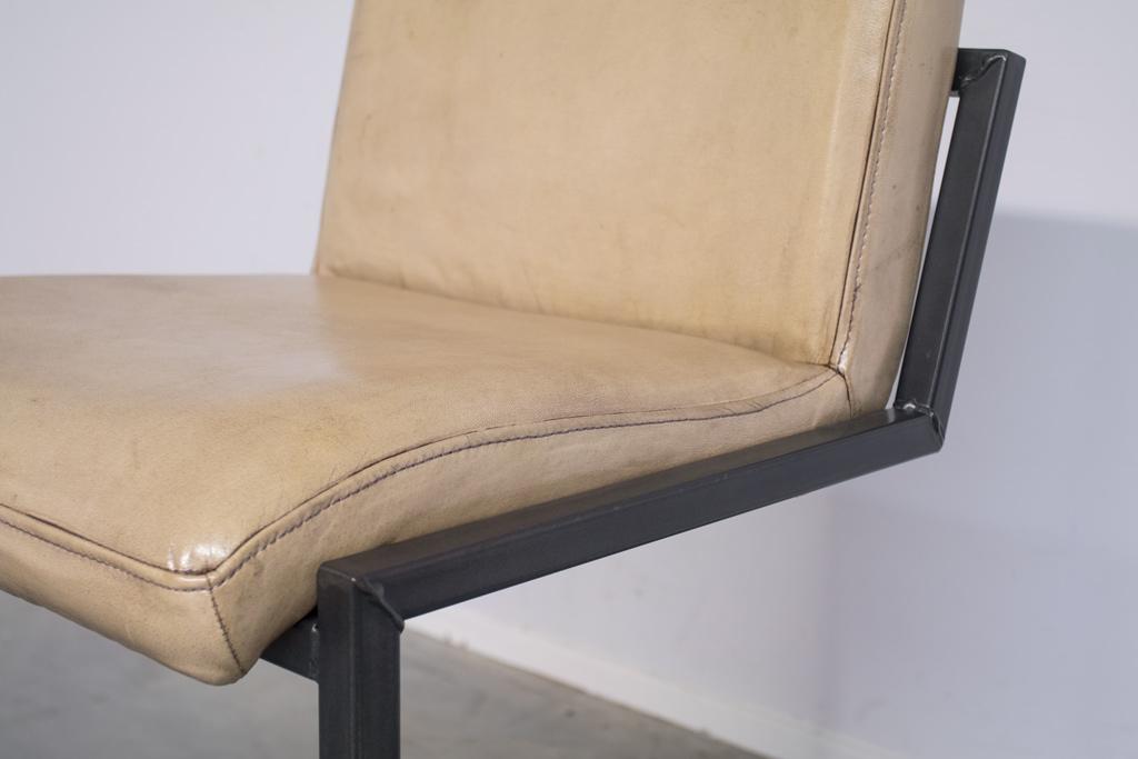 Buffalo Industrie Barhocker Niedrig - Vintage Leder - Art. 59