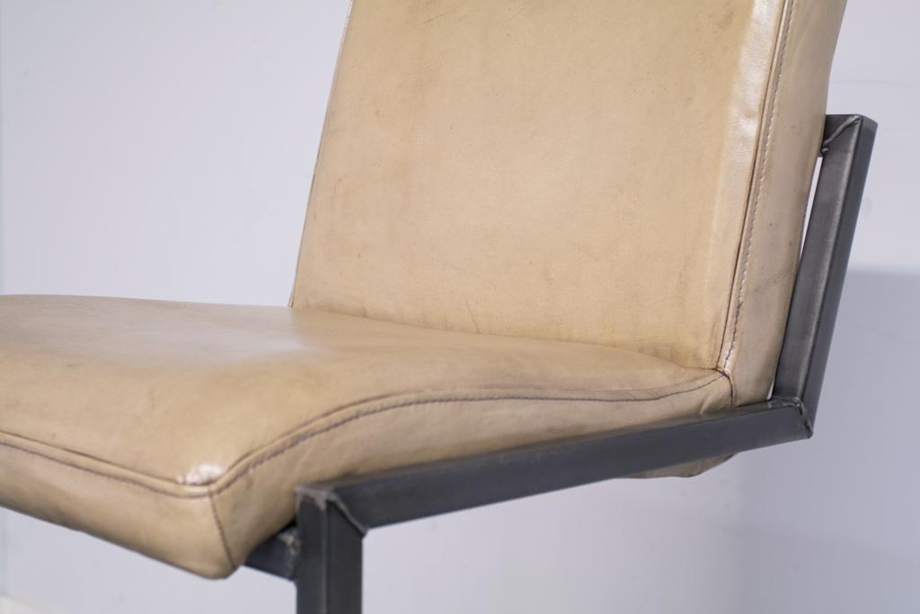 Buffalo Industrie Barhocker Hoch - Vintage Leder - Art. 59