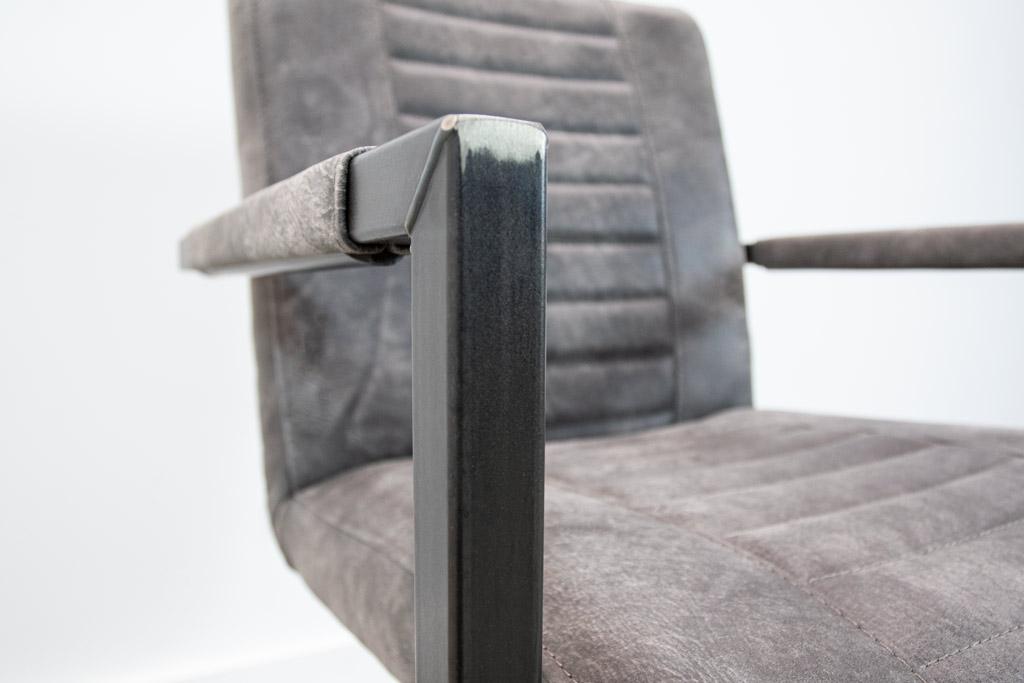 Industrie Freischwinger - Lederstuhl - Art. 176 - Moro