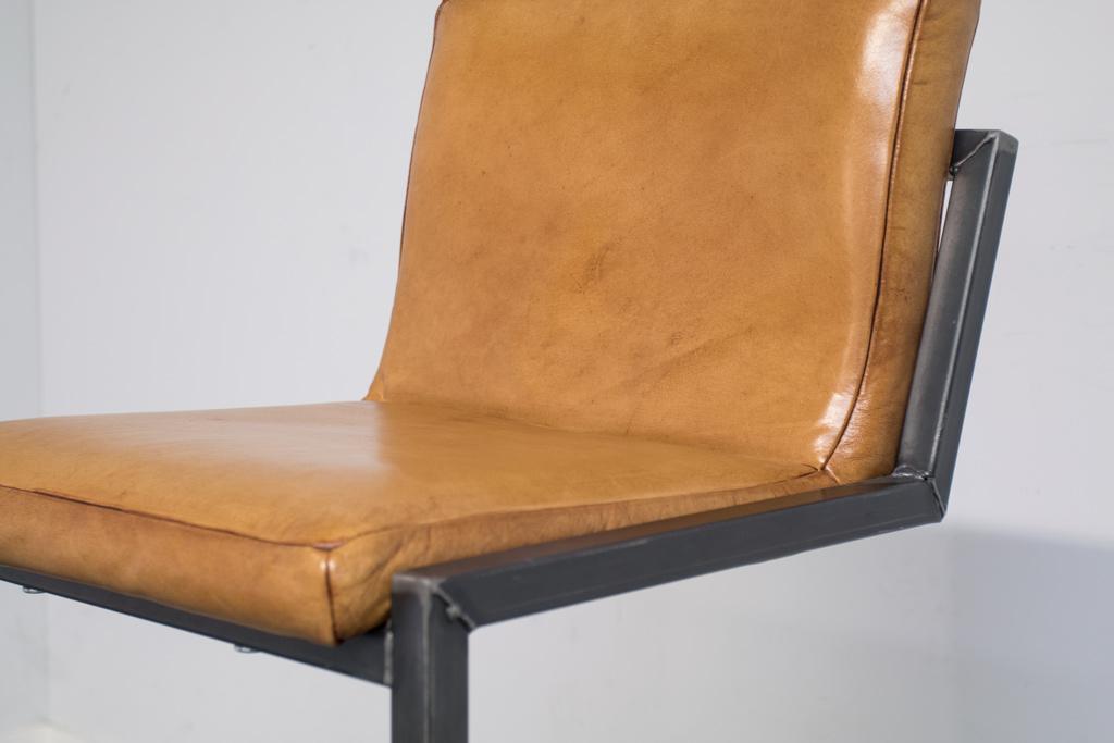 Buffalo Industrie Barhocker Hoch - Vintage Leder - Art. 186