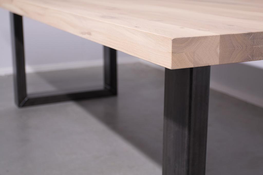 Industrie Design Esstisch U-Gestell - Neue Eiche - Art. 360