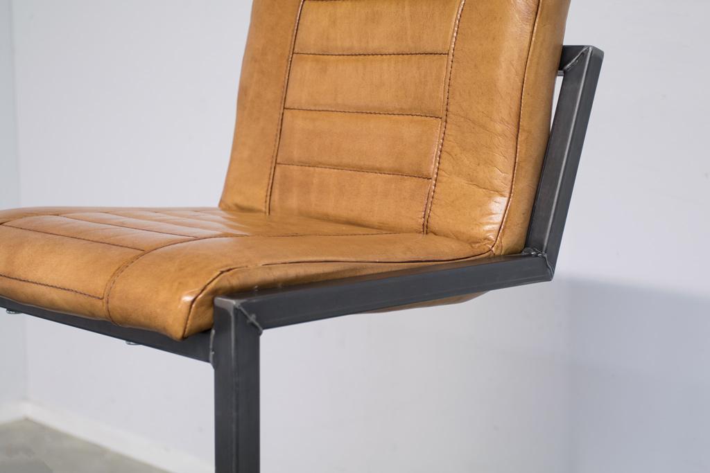 Buffalo Industrie Barhocker Hoch - Vintage Leder - Art. 183