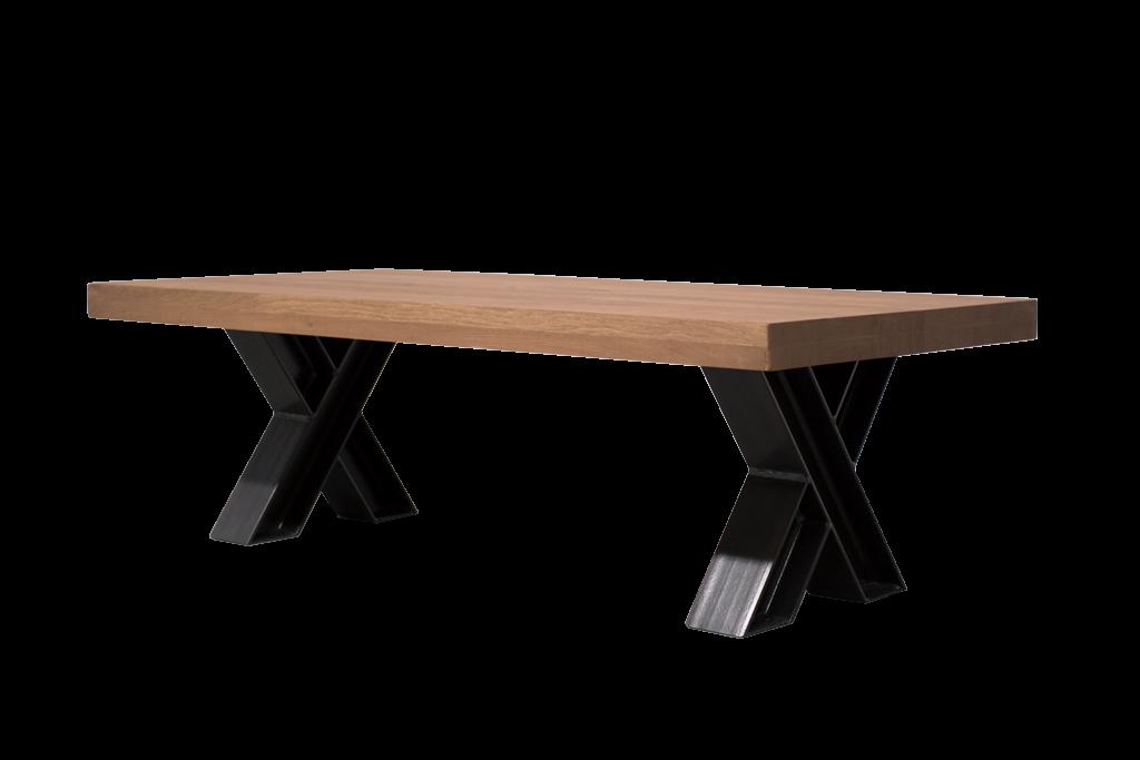 Industrie Design Couchtisch X Formige Stahl Beine H Profil Neue