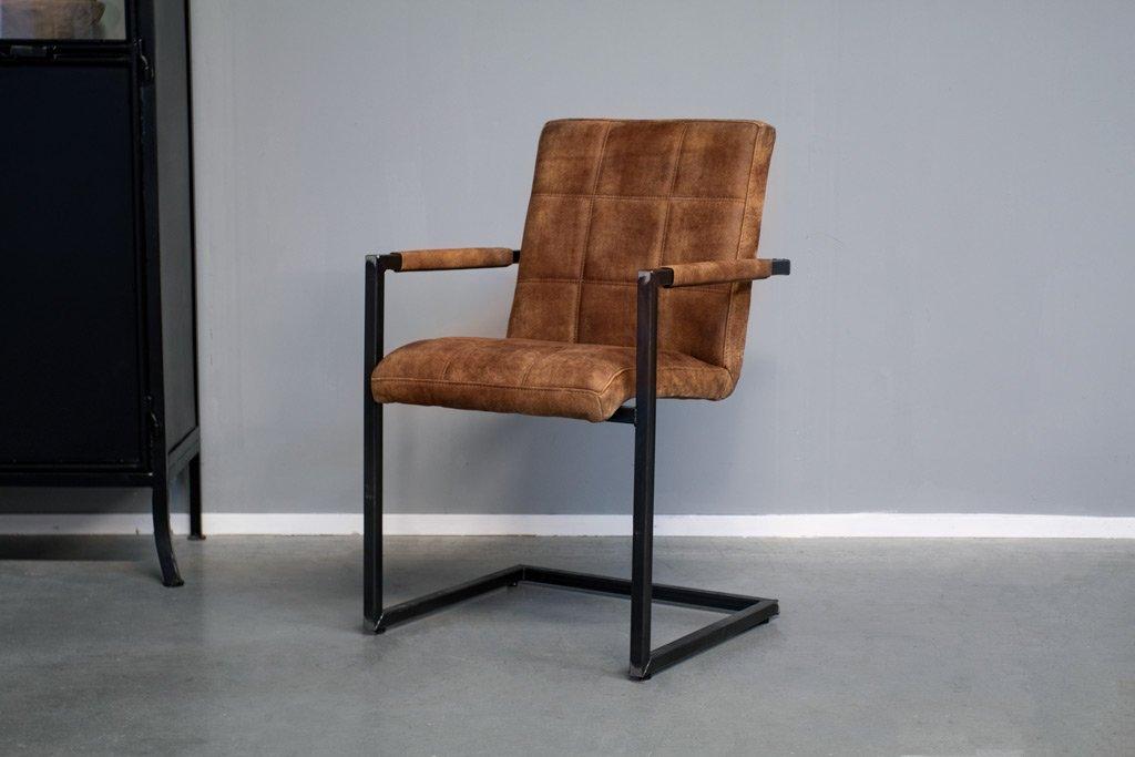 Buffalo Industrie Freischwinger - Vintage Leder - Art. 94