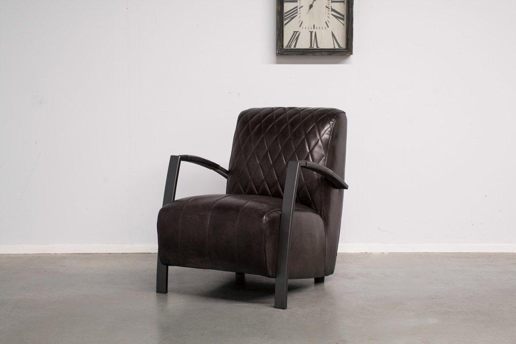 Buffalo Industrie Sessel - Vintage Leder - Art. 136