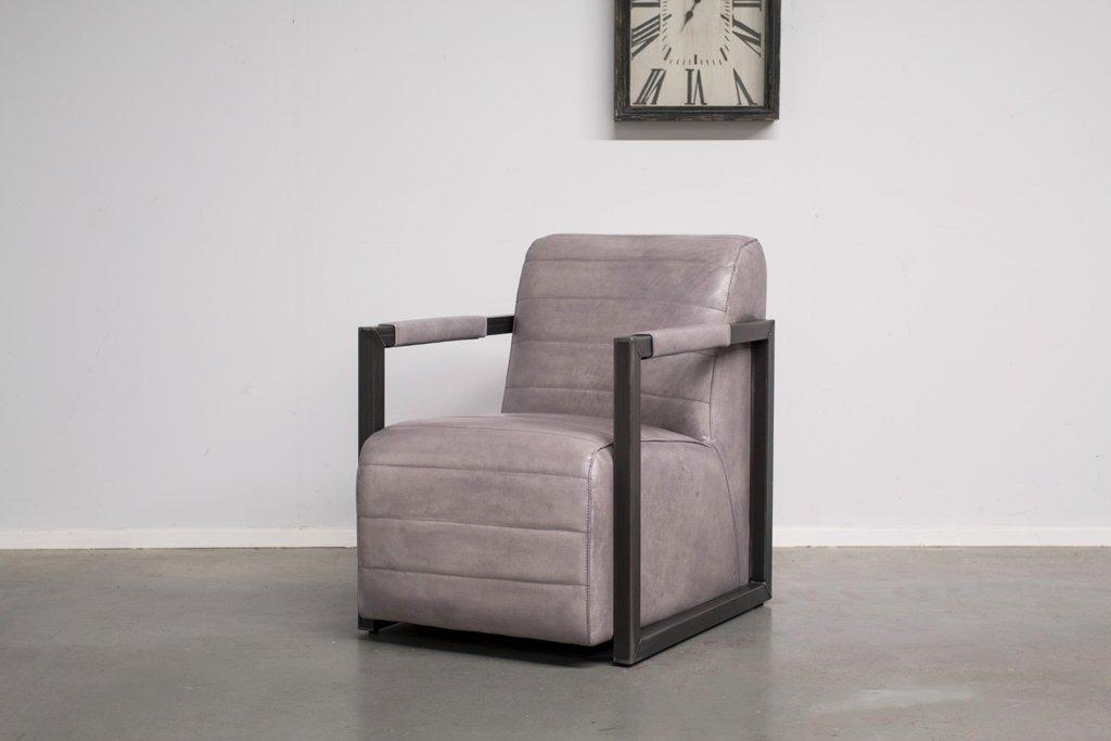 Buffalo Industrie Sessel Amerikanisch - Vintage Leder - Art. 312