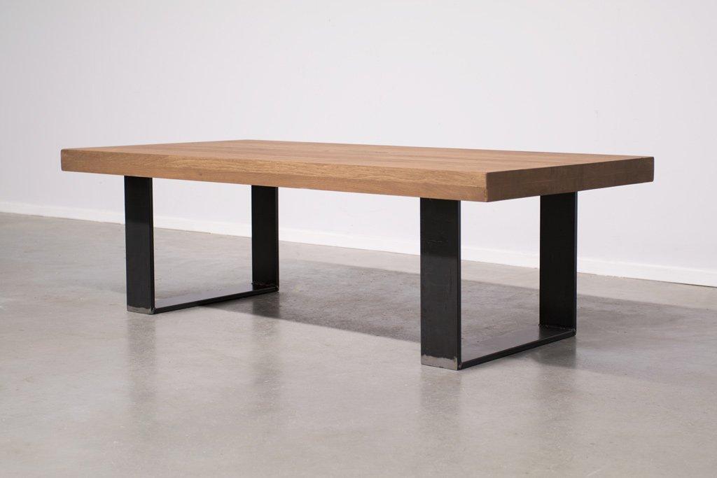 Industrie Design Couchtisch U-Gestell - Neue Eiche - Art. 370