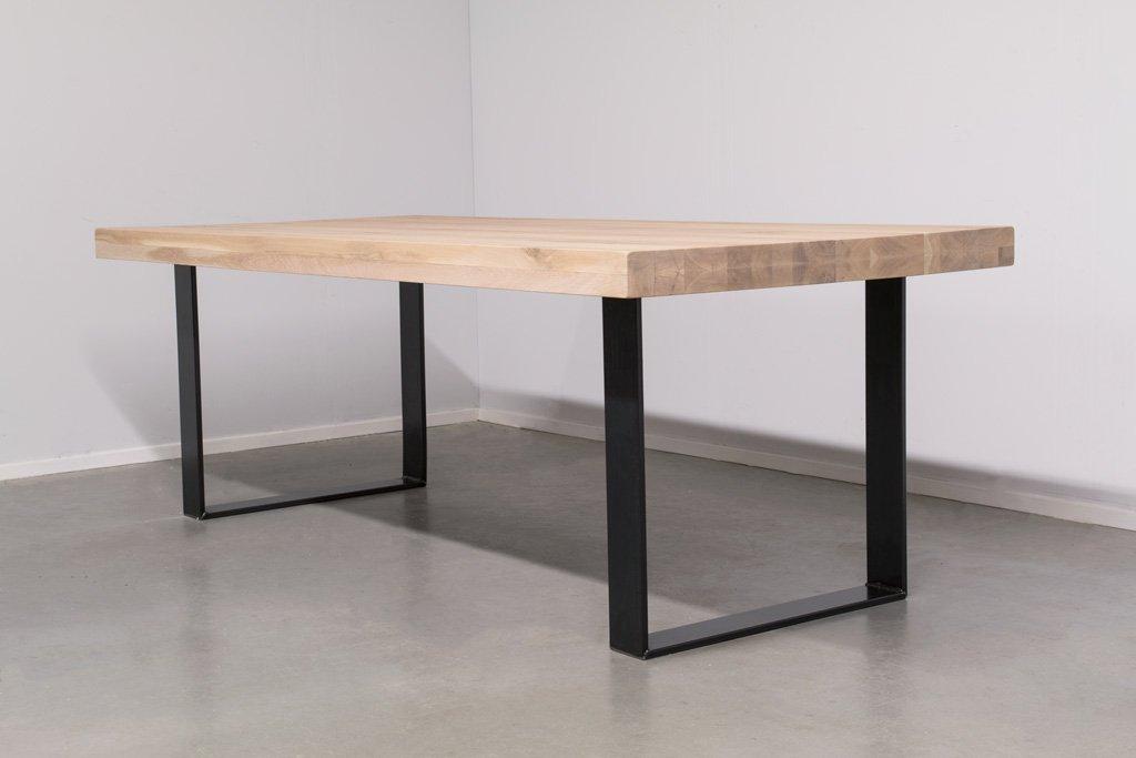 Industrie Design Esstisch U-Gestell - Rustikale Eiche - Art. 370