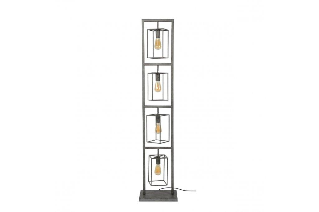 Stehlampe Jaap 4x kubischer Turm