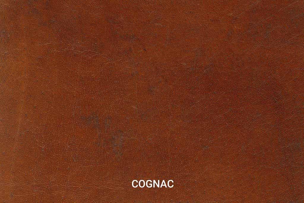Farbmuster Büffelleder Vintage Cognac