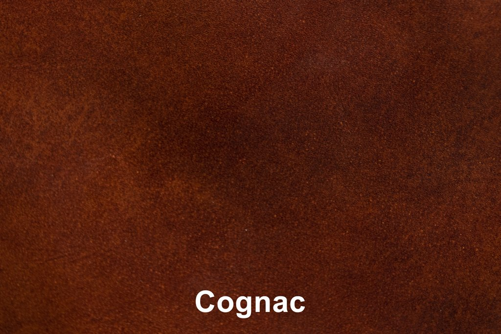 Farbmuster Industrial Leather Cognac