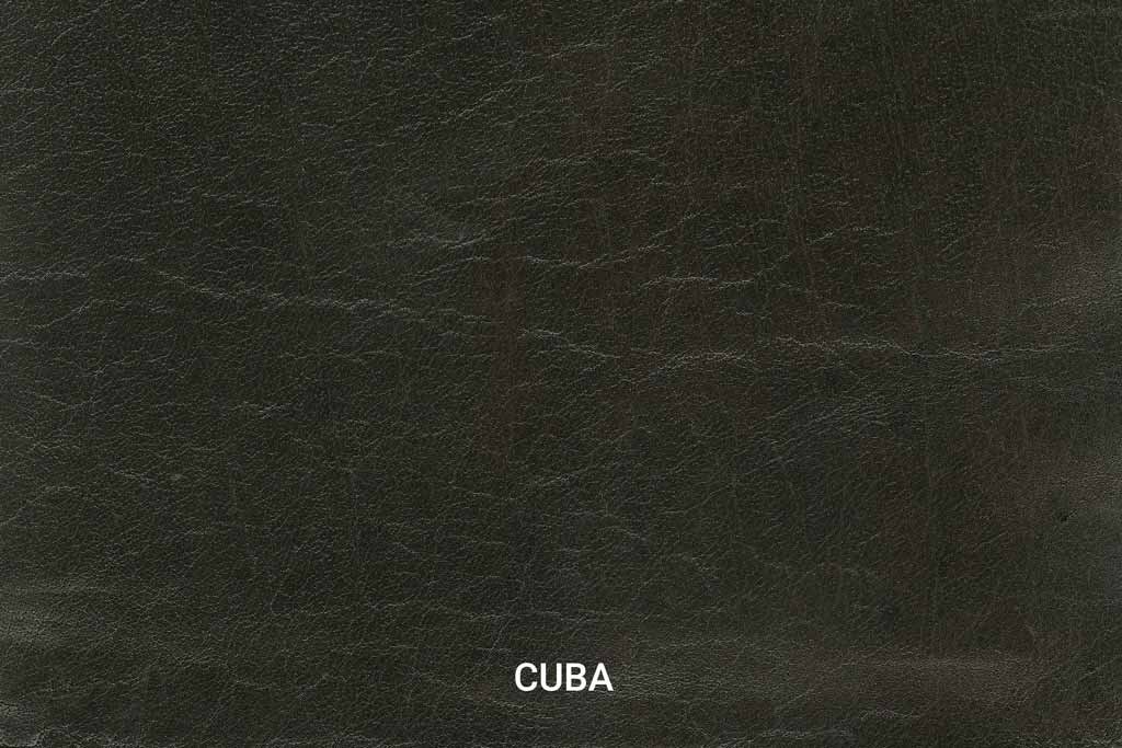 Farbmuster Büffelleder Vintage Cuba