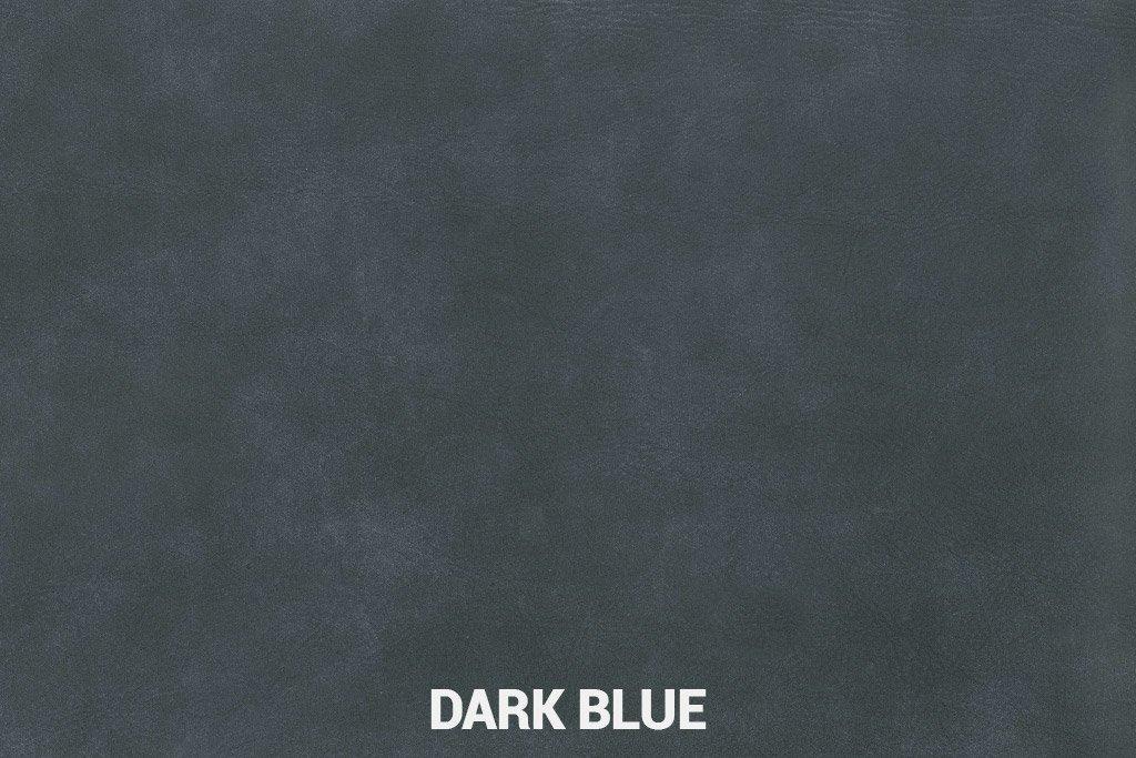 Farbmuster Büffelleder Elegant Dark Blue