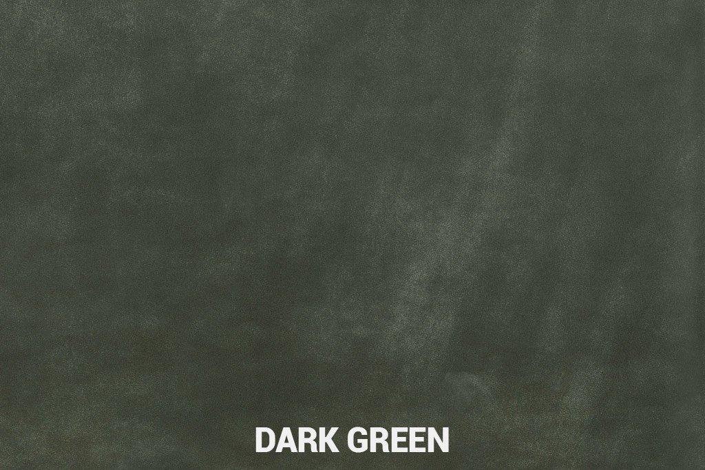 Farbmuster Büffelleder Elegant Dark Green
