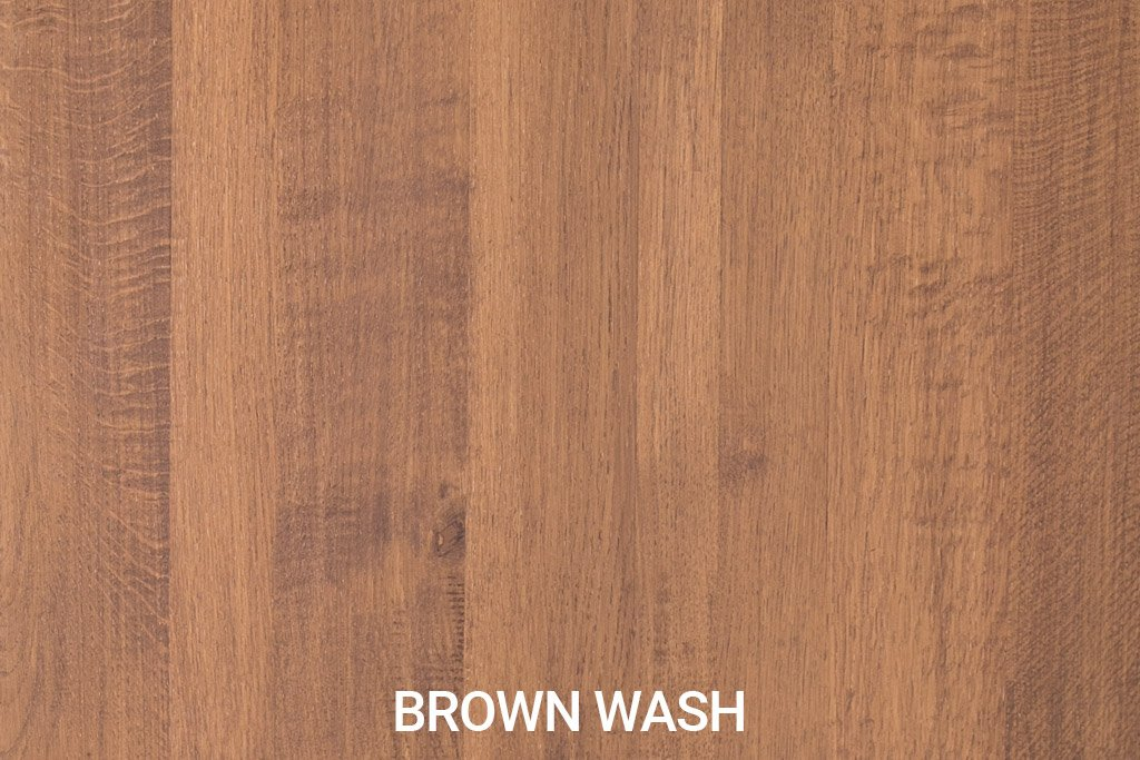 Farbmuster Rustikale Eichenholz Brown Wash