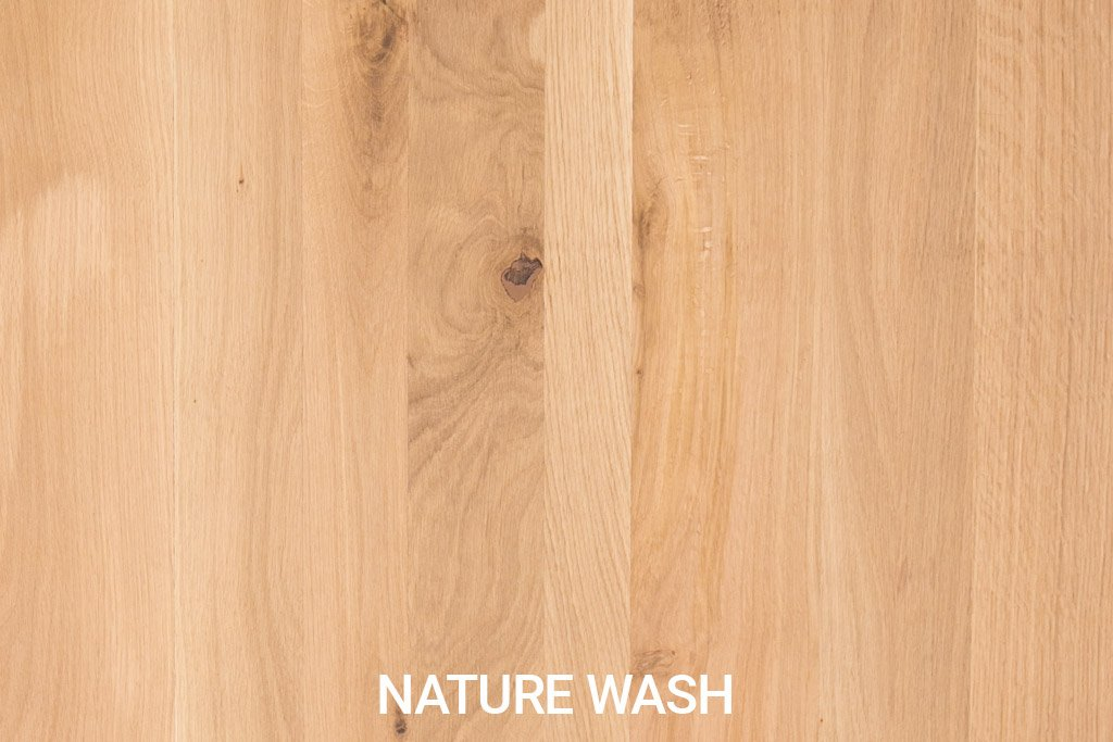Farbmuster Rustikale Eichenholz Natural Wash