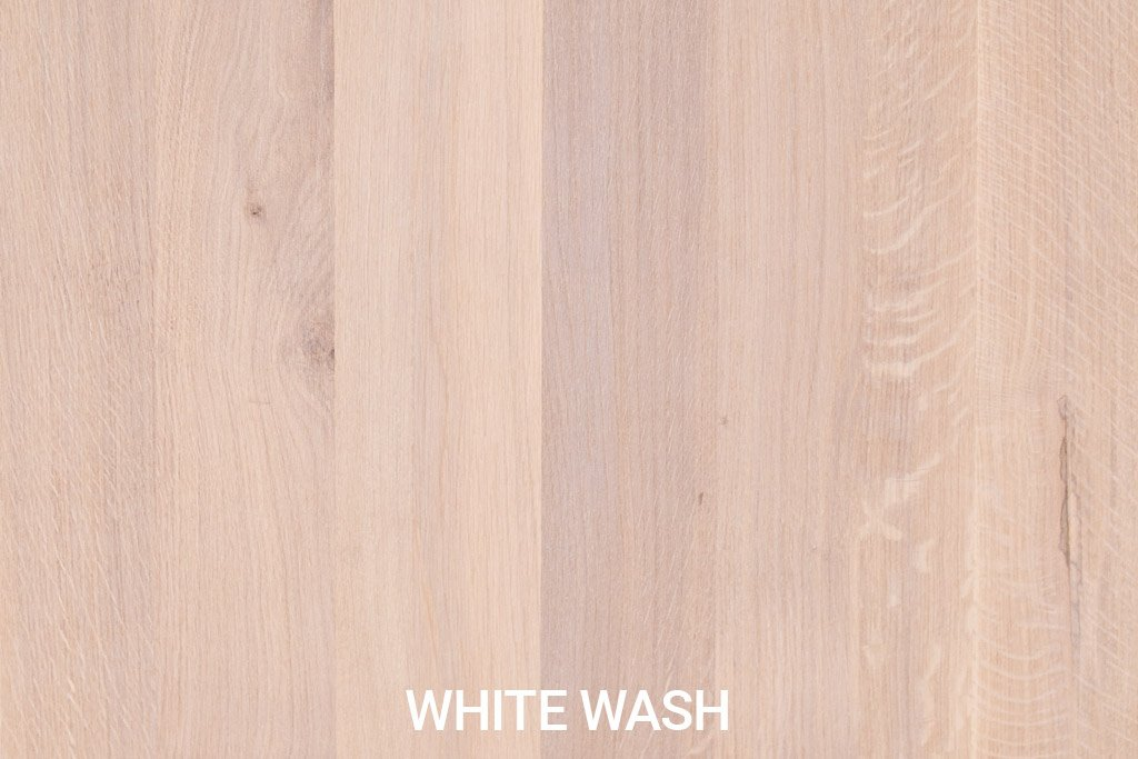 Farbmuster Rustikale Eichenholz White Wash