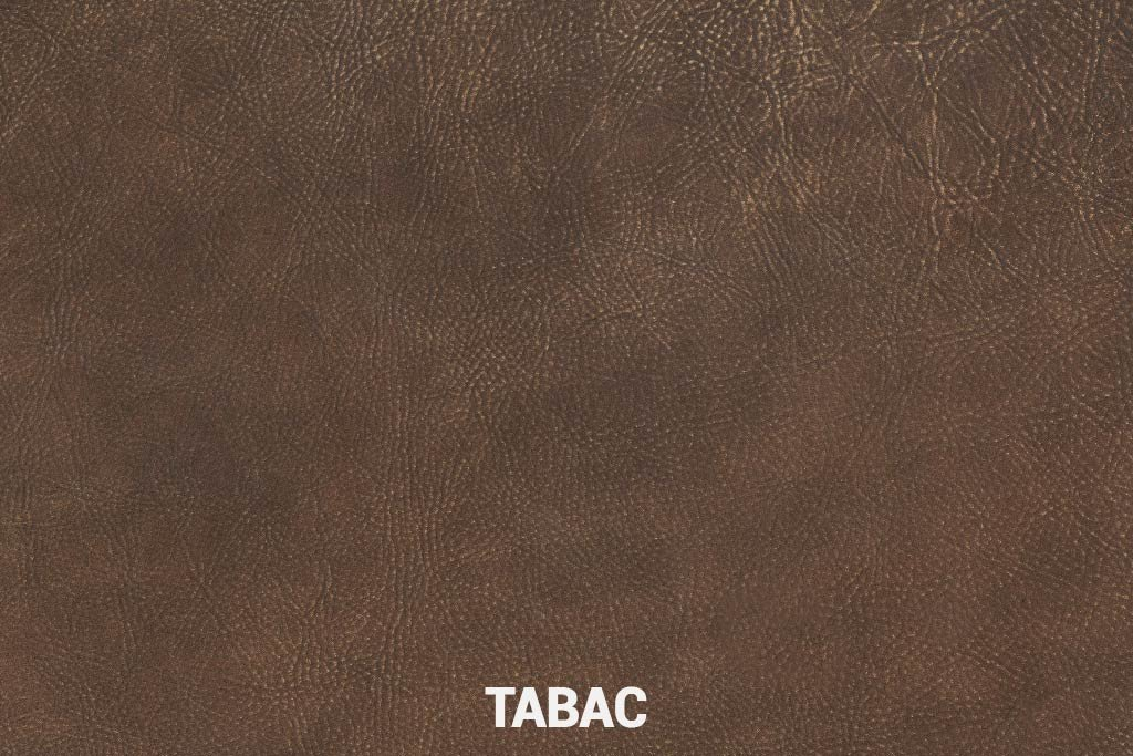 Farbmuster Büffelleder Elegant Tabac