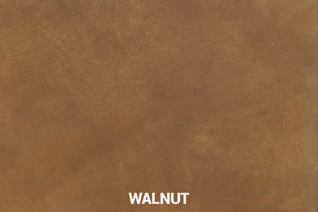 Farbmuster Büffelleder Elegant Walnut
