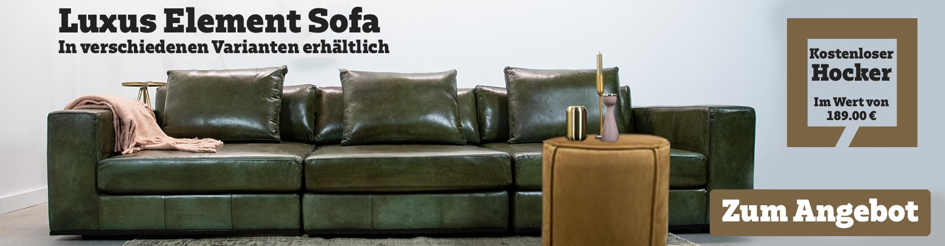 Luxus Elementen Sofa