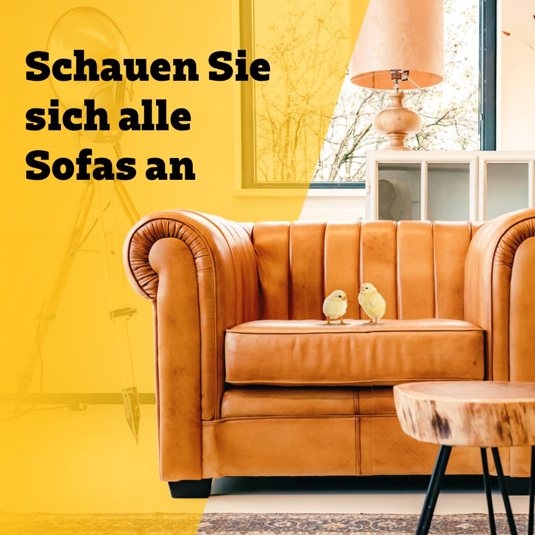 15% Rabatt sofa